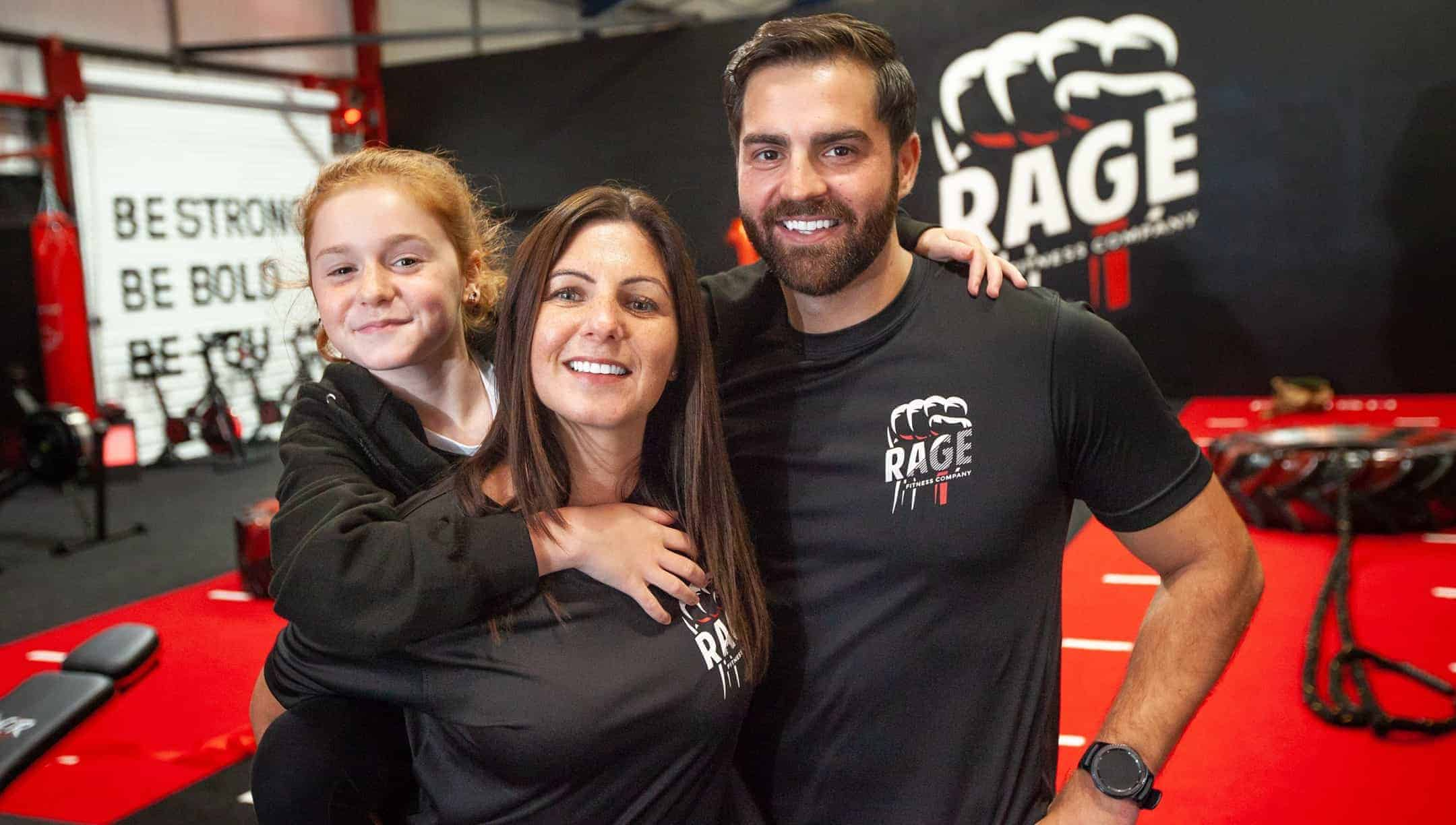 Rage Fitness Gym Launch