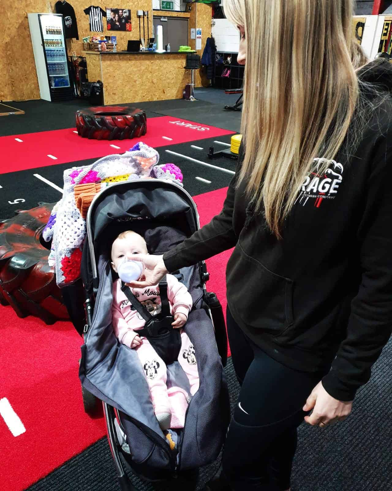 Parenthood, Isolation and Rage Fitness Company…